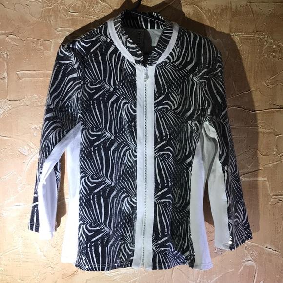 b0bb8b797ccb Berek Jackets & Coats   Black White Jacket Large   Poshmark